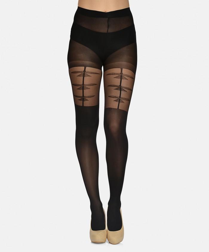 women-black-self-design-stockings-mst-08