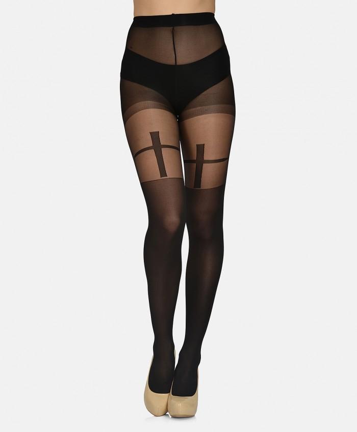 women-black-self-design-stockings-mst-09